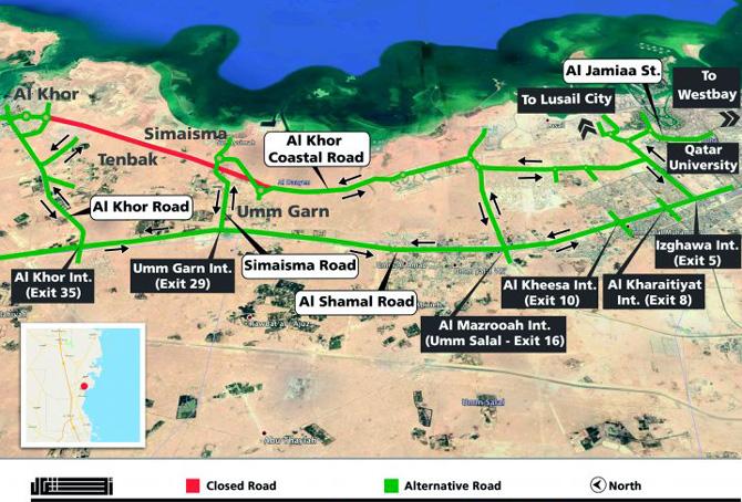 Al-Khor-road