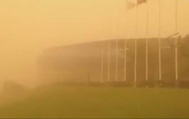 Widespread dust