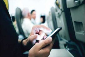 in-flight mobile services