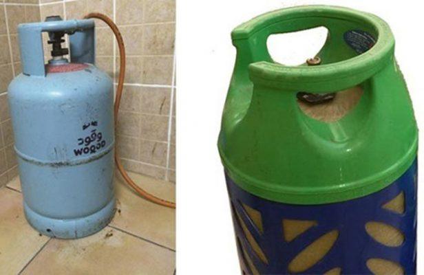 metal gas cylinders