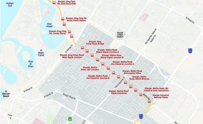 New bus route